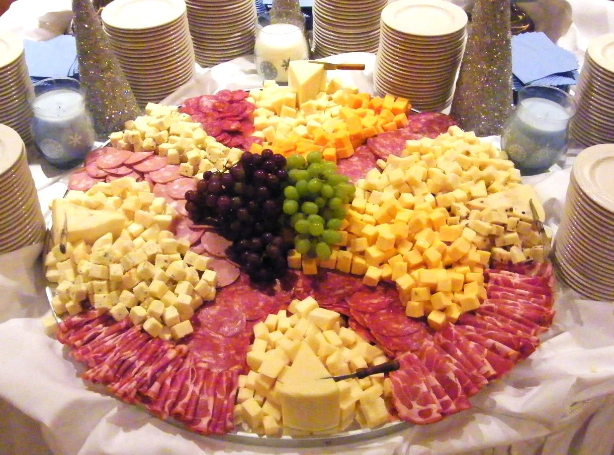 International Meat & Cheese Display:
