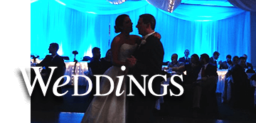 Wedding catering and hall