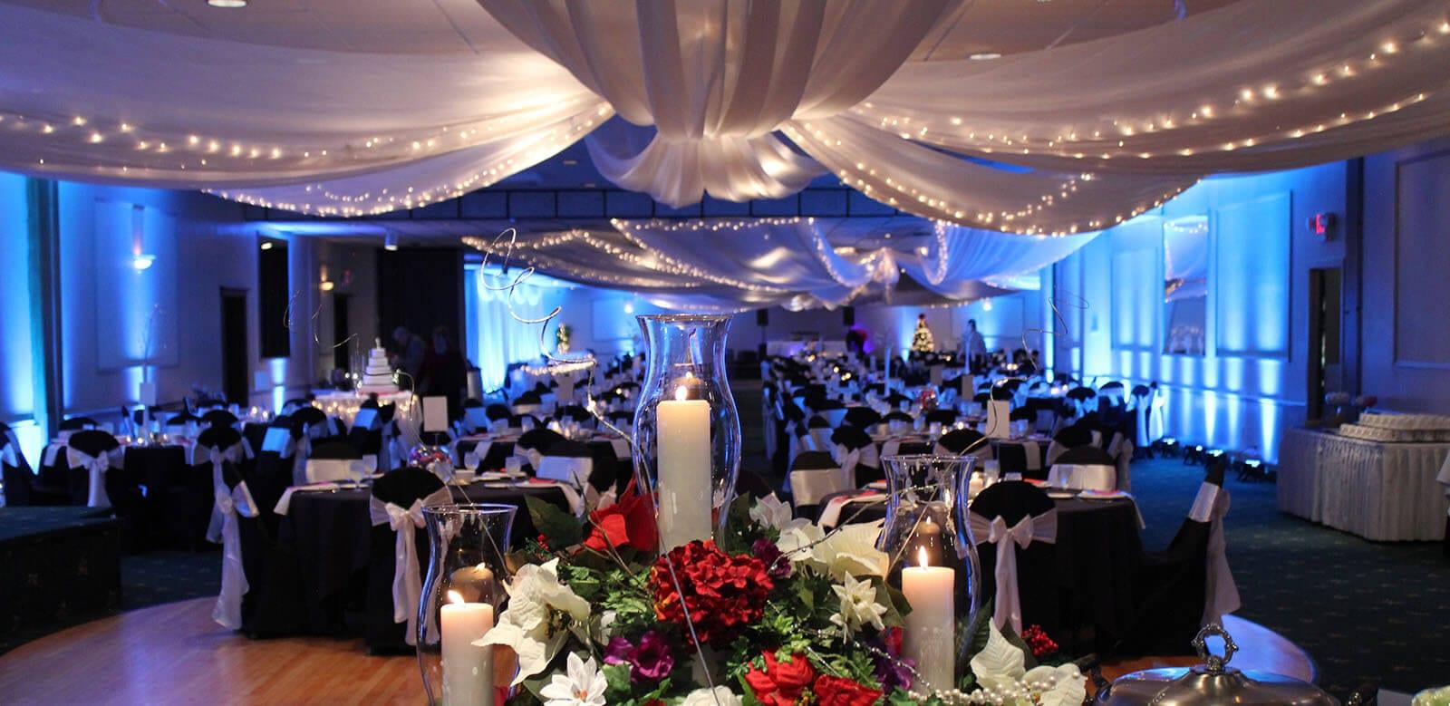 Beautiful wedding setting at Patrician Catering