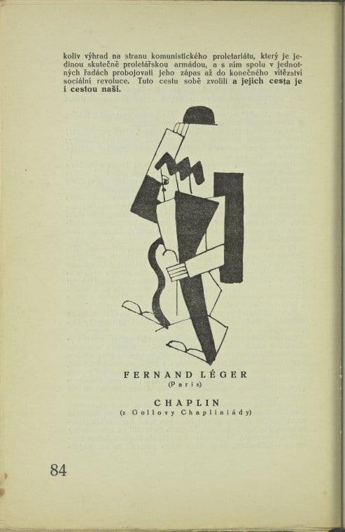 Charlie Chaplain interpreted in modern art