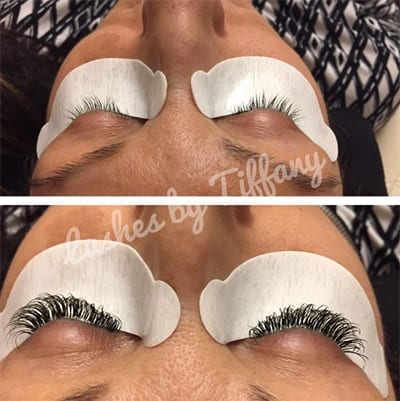 Xtreme lashes at Francesco's