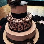 Fancy cake from Patrician Catering